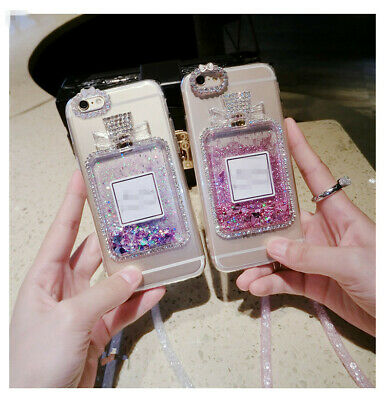 AU7.99 • Buy OPPO Bling Stylish Girly Perfume Bottle Quicksand Case A57 A59 F1S A77 R9 R11s +