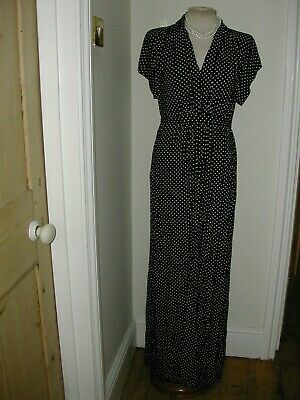 £14.99 • Buy BNWT FRENCH CONNECTION LADIES 40s STYLE POLKA DOT TEA DRESS SIZE 12