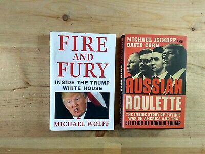 AU10.73 • Buy Lot Of 2 Fire And Fury: Inside The Trump White House & Russian Roulette Putin's
