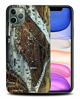 £5.14 • Buy Case Cover For Apple Iphone old World Map Sketch Art #3