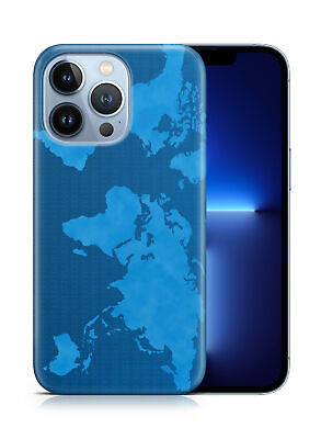 £5.14 • Buy Case Cover For Apple Iphone fun World Map Atlas