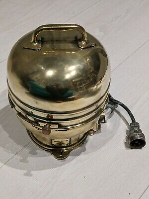 £500 • Buy WW2 Era Royal Navy Ship's Compass Brass With Dome By W.F. Stanley
