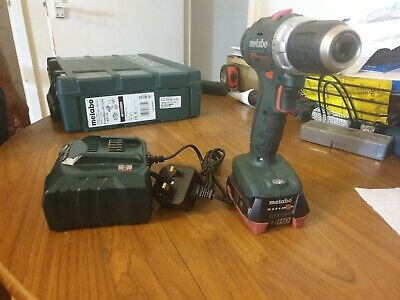 £99.99 • Buy Metabo BS12BL + Battery And Charger Used