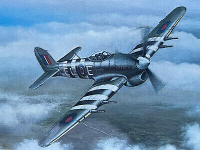 £6 • Buy Spitfire Hawker Typhoon Demille Collection NC36T29 Painting Poppy Uk Sale Gift
