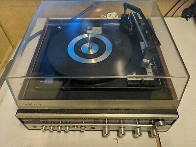 £29.99 • Buy FIDELITY RADIO MASTER Solid State Record Player Turntable 3 Speed Vintage