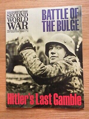 £0.99 • Buy Purnells History Of The 2nd World War - Battle Of The Bulge