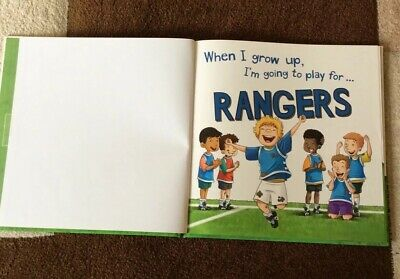 £4 • Buy When I Grow Up, I'm Going To Play For Rangers By Gemma Cary (Hardback, 2015)