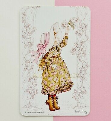 AU5.80 • Buy GENUINE Swap Card ~ GORGEOUS SARAH KAY YOUNG GIRL PICKING ROSES UNDER ARCH ~ D18