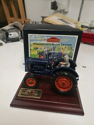 £40 • Buy Britains Collectibles Fordson E27N Major Tractor Diecast Model With Plinth,