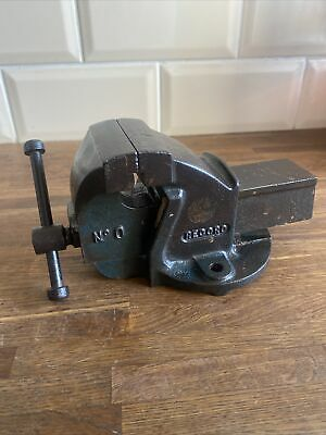 """£40 • Buy Vintage RECORD No.0 Vice 2.5"""" Jaws - Engineer Mechanic Modelmaker Bench Vise"""