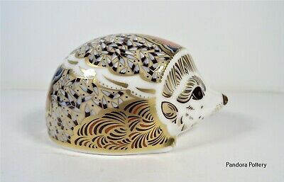 £65 • Buy Royal Crown Derby Hawthorn Mother Hedgehog Paperweight 2004 Limited Edition 1099