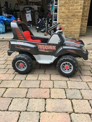 £60 • Buy Peg Perego Adventure HP Children's Battery Powered Jeep/car - Suit 3-5 Year Old