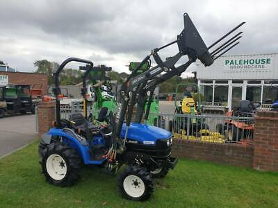 £11000 • Buy New Holland TC21D Compact Tractor With Loader And Counterbalance Weight