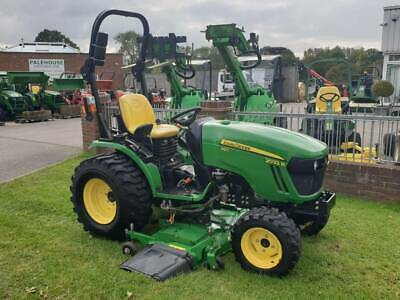 £14000 • Buy John Deere 2032R Compact Tractor With A Mid Mounted Deck.