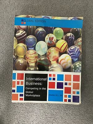 £9.99 • Buy International Business, Global Edition By Charles W. L. Hill (Paperback, 2014)