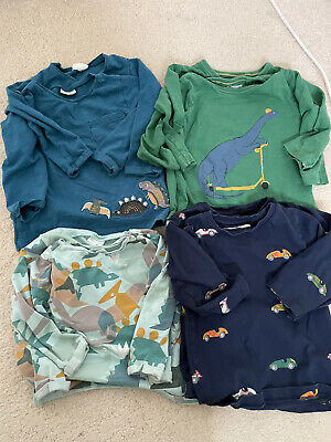 £10 • Buy Twin Baby Boy Next Long Sleeved Clothes Bundle - 12-18 Months