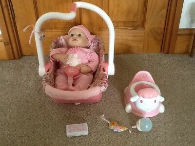 £30 • Buy Baby Annabell Doll With Carrier, Potty, Wipes, Bottle & Wrist Toy