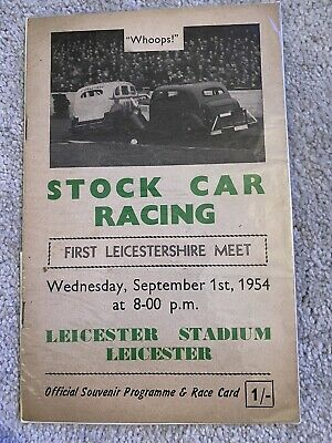 £9.99 • Buy Leicester Stadium First Ever Stock Car Meeting Programme