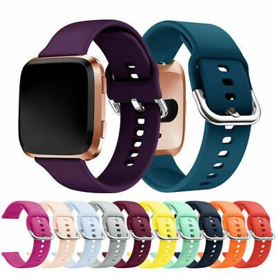AU4.40 • Buy For Fitbit Versa 2 1 Lite Blaze Watch Strap Replacement Silicone Sports Band