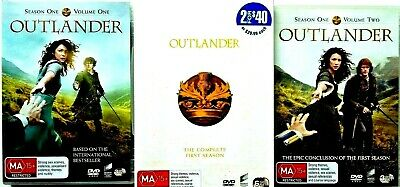 AU19.50 • Buy OUTLANDER The Complete First Season DVD Boxed Set 6x Discs-REGIONS 2,4,5