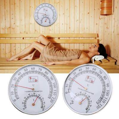 £6.76 • Buy Sauna Thermometer Metal Case Steam Sauna Room Thermometer Hygrometer Bath And
