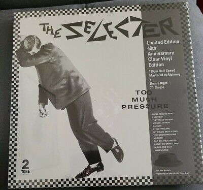 £18 • Buy The Selecter - Too Much Pressure UK Two Tone 40th Clear Vinyl LP + 7  *Sealed*