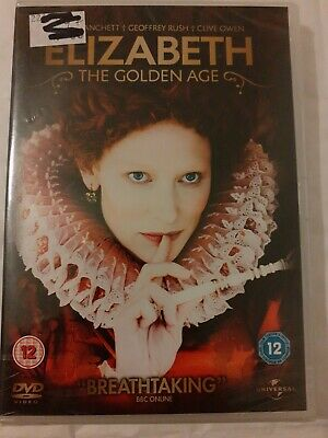 £2.99 • Buy Elizabeth - The Golden Age (DVD, 2011) Brand New And Sealed.