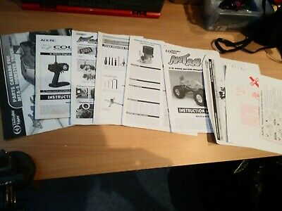 £6.99 • Buy Thunder Tiger Mta4 Manual And Info Leaves All In Nice Condition