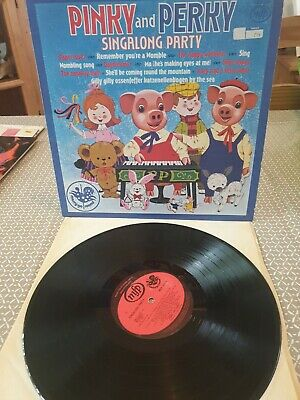 £3 • Buy Pinky And Perky Vinyl Singalong Party MFP 50156