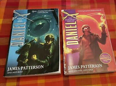 AU10.71 • Buy 2 JAMES PATTERSON ~ THE DANGEROUS DAYS OF DANIEL X And  WATCH THE SKIES