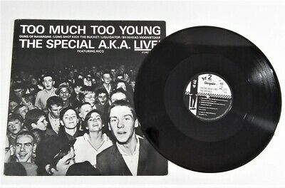 £22 • Buy The Specials Too Much Too Young Japan 12  Vinyl 2 Two Tone 1991 WWS-10002 VG+
