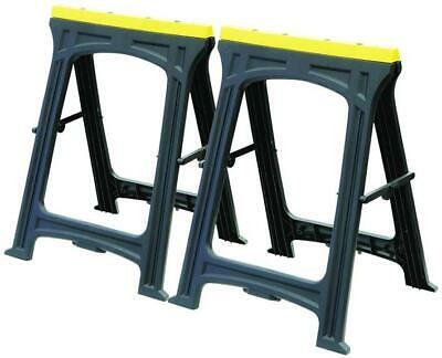 AU96.10 • Buy Saw Horse Set, Height 822mm, Length 571mm, Width 52mm, Tool Body Ma For Duratool