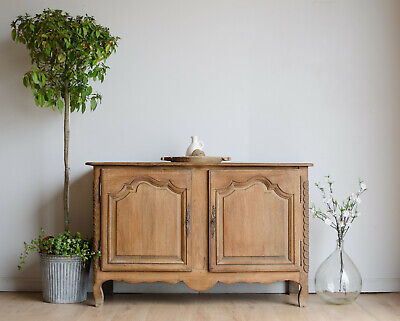 £950 • Buy French Antique 19th Century Oak Sideboard / Cupboard / Cabinet With Shelf
