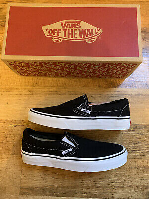 £42.99 • Buy BRAND NEW Vans Black And White Classic Slip On Trainers Size Uk 5