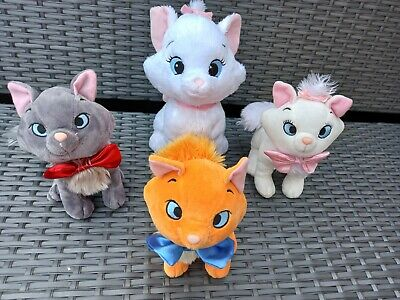 £10 • Buy Disney The Aristocats X 4 Toulouse, Marie And Berlioz Kittens Plush Toys