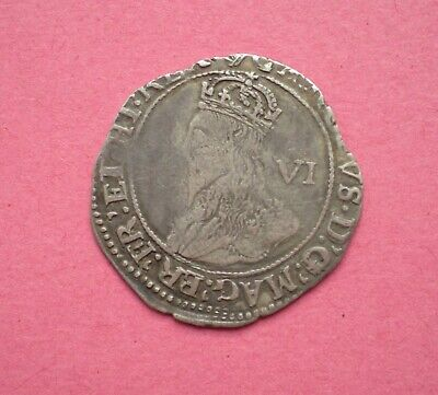 £60 • Buy Charles I Silver Sixpence Mm Harp - 1632/3 Spink 2811