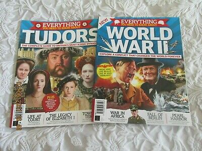 £4.99 • Buy Everything You Need To Know About The Tudors And World War 2     Double Pack