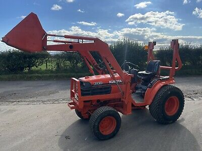 £7250 • Buy Kubota B2410 Compact Tractor With Front Loader