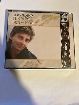 £3.49 • Buy Manilow, Barry - The Songs 1975-1990 2CD