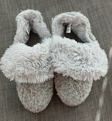 £3 • Buy Women's B Longbay Grey Boot Slippers Size 3 - 4 Very Good Condition Hardly Worn