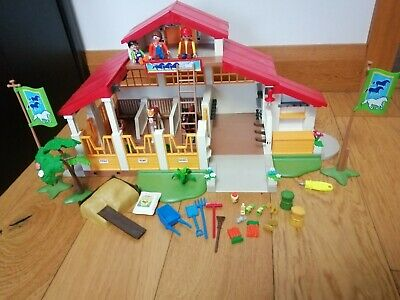 £40 • Buy Playmobile Horse Farm Riding Stables 4190