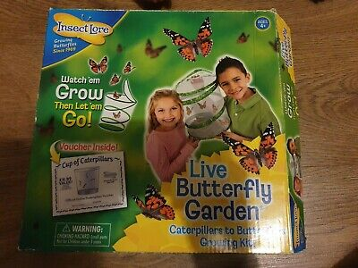 £2 • Buy Insect Lore Live Butterfly Garden Net, Educational, Learning, Toy