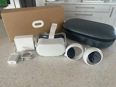 AU698.98 • Buy Oculus Quest 2 64GB VR Headset - White, Christmas Present Latest Virtual Reality