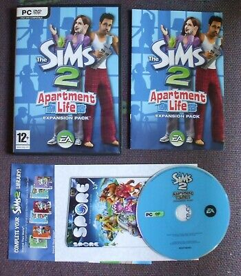 £6.99 • Buy The Sims 2: Apartment Life Expansion Pack For PC, DVD-ROM (Windows) - Complete