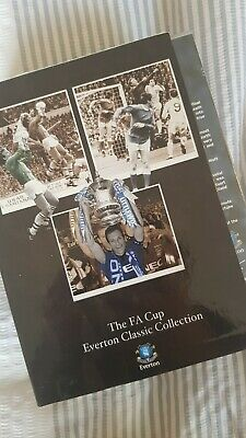£10 • Buy The FA Cup Everton DVD Collection