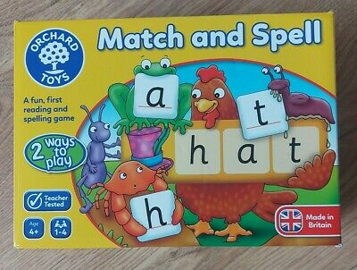 £0.99 • Buy Orchard Toys Match And Spell Game