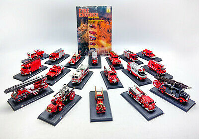 £40 • Buy Del Prado Fire Engines Of The World Die Cast Collection X18