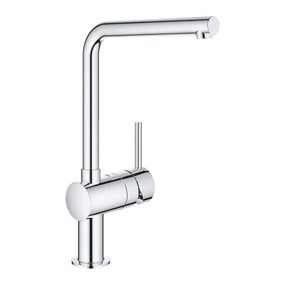 £129.76 • Buy Grohe 31375000 Minta Single-lever Sink Mixer Tap, Chrome - NEW