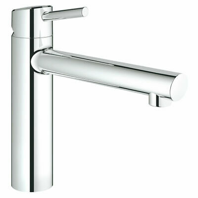 £99.67 • Buy Grohe 31128001 Concetto Single-lever Sink Mixer Tap 1/2″ , Chrome - New