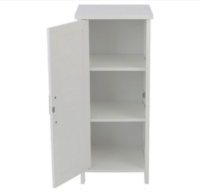 £39.95 • Buy Lloyd Pascal Chalgrove Floor Cabinet White Bathroom Unit CASH ON COLLECTION ONLY